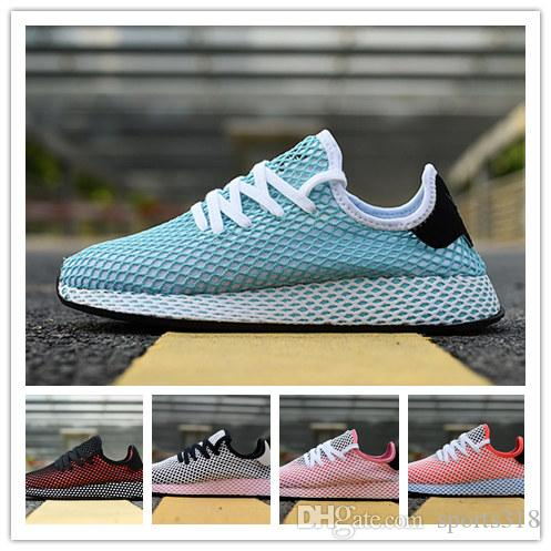f7797ef6b426e 2018 DEERUPT RUNNER Shoes Pharrell Williams III Stan Smith Tennis HU KPU  Designer Mesh Running Zapatos Trainers Chaussures Sneakers 36 44 Designer  Shoes ...