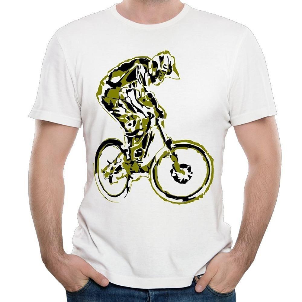 c3ce14709 Motocross Bicycle Mans Tall T Shirt Crewneck Amusing Tshirt Baseball Dad  Short Sleeve T Shirt Fashiont Shirt Awesome T Shirts For Men T Shirts  Shopping ...
