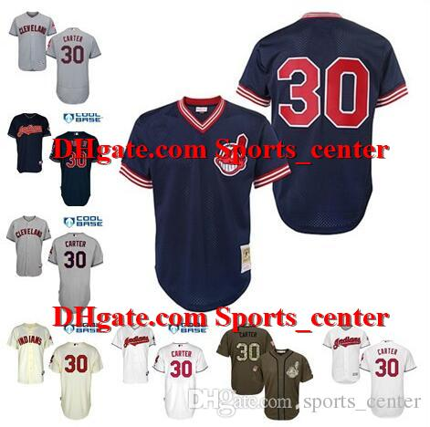 3616f3c11b4 joe carter cleveland indians  indians jerseys mens women youth custom joe  carter mitchell ness navy 1986 authentic cooperstown col