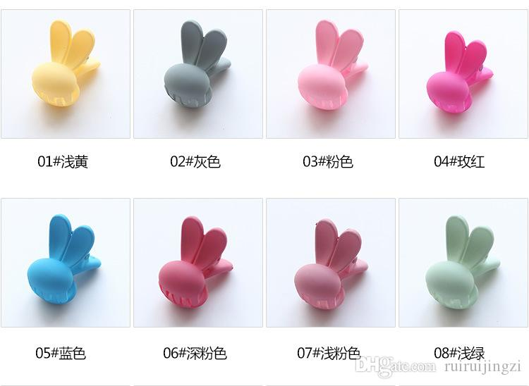 2018 new Pet groomingPet Hairpin Dog Dress Up Hair Accessories Bunny Trumpet Scratch Mini bangs z22