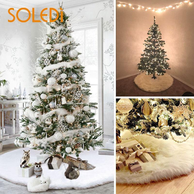 gro handel wei e pl sch party weihnachten weihnachtsbaum. Black Bedroom Furniture Sets. Home Design Ideas