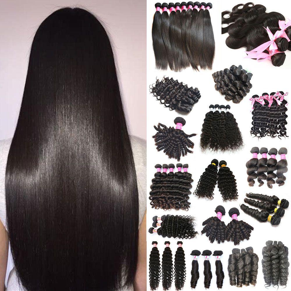 Aligned Cuticle Virgin Human Hair 9a Glamorous Brazilianperuvian