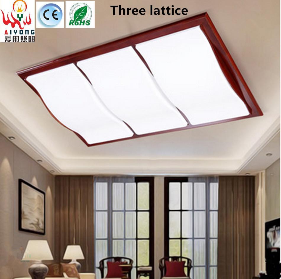 Großhandel Moderne Chinesische Art LED Decke Einfache Rechteckige ...