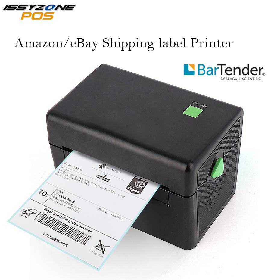 4 inch thermal shipping label printer sticker barcode printer price tag maker usb port 2d barcode free bar code edit software color printers colour laser