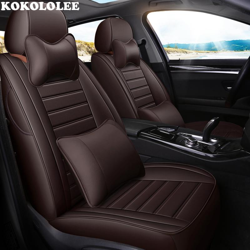 Wholesale Leather Car Seat Cover For Volvo V50 V40 C30 Xc90 Xc60 S80 S60 S40 V70 Auto Accessories Covers Vehicle Cosco Seats