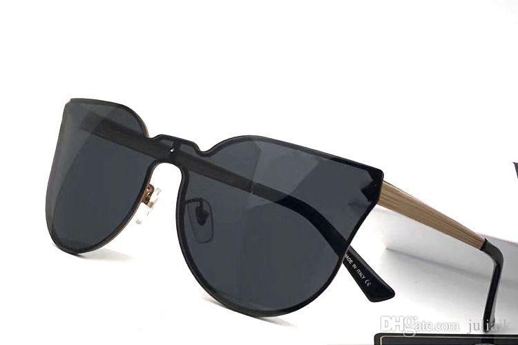 aaf31066be0 Brand Designer Medusa Fashion Sunglasses Cat Eye Frame Popular Style Simple  Quality Men Women Outdoor Anti Uv Eyewear With Box John Lennon Sunglasses  Wiley ...