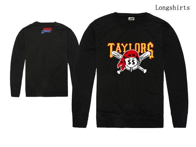 2018 new arrival hiphop homens e mulheres camiseta de manga longa taylorgang amor manga comprida t shirt streetwear estilo hip hop preço de atacado solto
