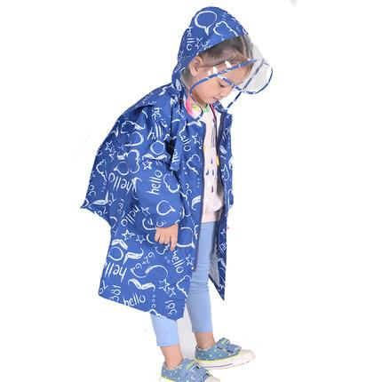 af20d499f5bd 2019 S 3XL Cute Raincoats For Children 4 Fashion Pattern Printed ...