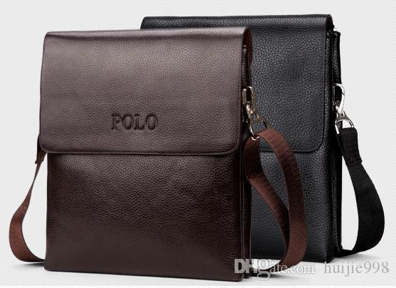 Wholesale Custom Men Leather Shoulder Bag Messenger Bag Double Men s  Business Leather Bag 1345 Briefcase Shoulder Bag Online with  23.96 Piece  on ... 6cc4c0a2d4944