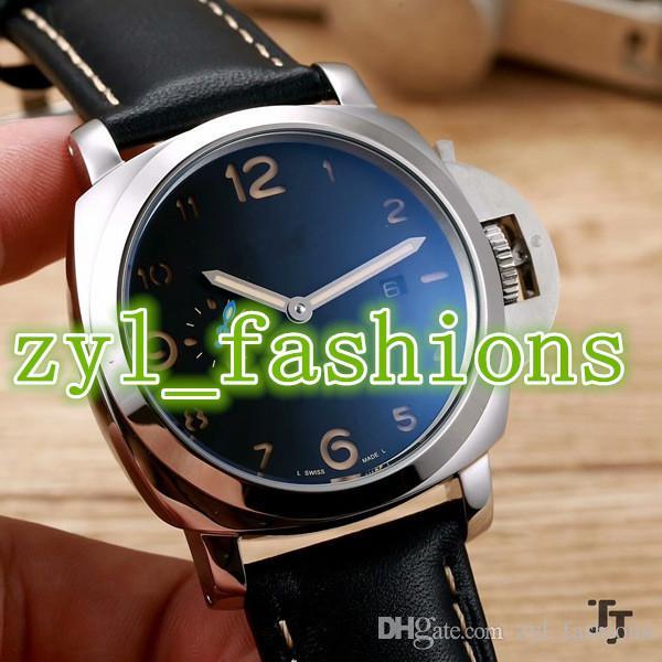 Deportivos Automáticos Cuero Con Alta Relojes De Azul Deportivo Calidad Hombres Pulsera Boutique Para Prestigioso Esfera Reloj P0Onkw
