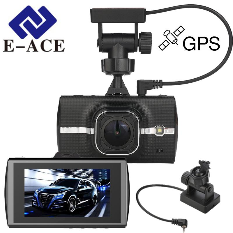 Car Dvr GPS Tracker Full HD 1080P Dash Cam Video Recorder Camera ADAS LDWS Recorder Camcerder Night Vision Registrar