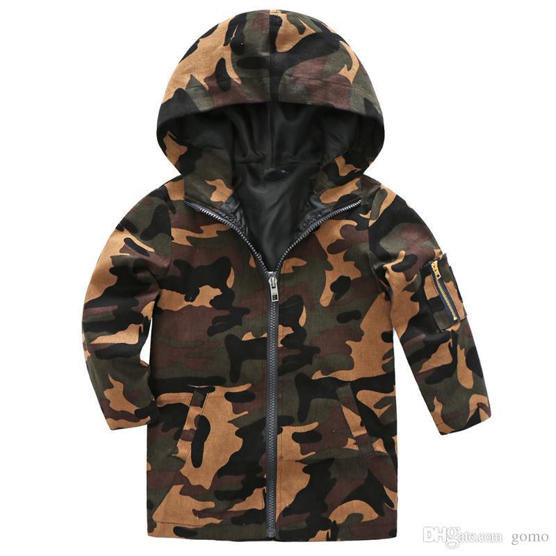 24b75ebf1aba Spring Children Jackets Windproof Kids Clothes Korean Children Camo Hooded Jacket  Coat Kids Winter Jacket Outerwear Coats Boys Parka Jacket Kids Jackets And  ...