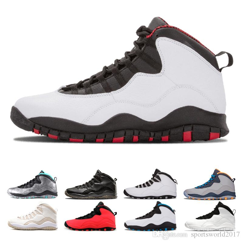 3bc53a3b5a3f7a 2019 10 Cement Westbrook 10s I M Back White Black Cool Grey Bobcats Chicago  Steel Grey Men Basketball Shoes Mens Sneakers Size Eur 41 47 From ...