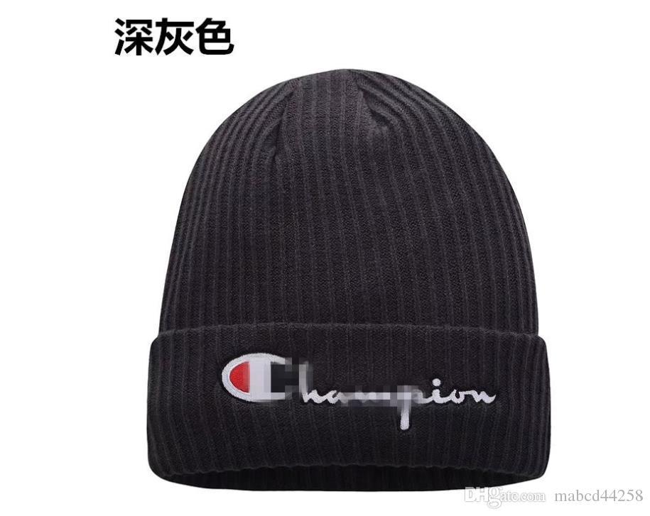 bceaf3ac8ac The New 2018 Jacquard Embroidery Warm Earmuffs Knitting Hat Fashion ...