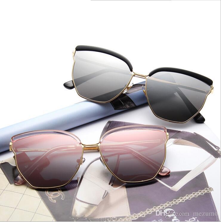 b3d38088511 High Quality Classic Pilot Sunglasses Men Women Sun Glasses Eyewear Gold  Metal Black Pretty Fashion Metal Sunglasses Retro Sunglasses Baseball  Sunglasses ...