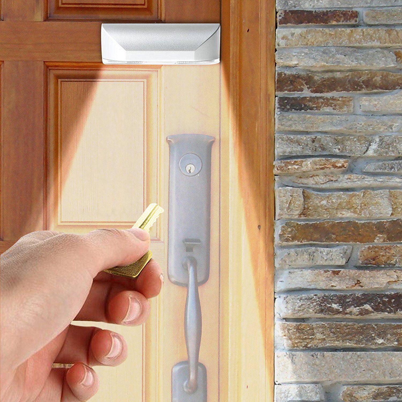 Door Motion Sensor Light Keyhole Light L& Battery Operated PIR Infrared Auto Sensor Motion Detector for Bedroom Stairway Closet Keyhole Light Motion ... & Door Motion Sensor Light Keyhole Light Lamp Battery Operated PIR ...