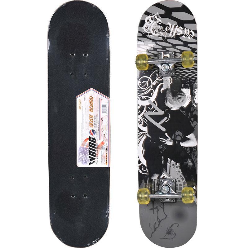 Verwonderend 2019 WEING 520 Double Tilt Skateboard Penny Board Skate Longboard XL-99