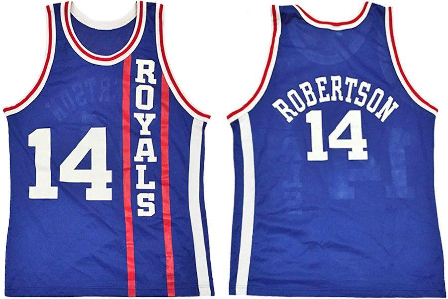 2018 Cincinnati Royals 14 Oscar Robertson Retro Classic Basketball