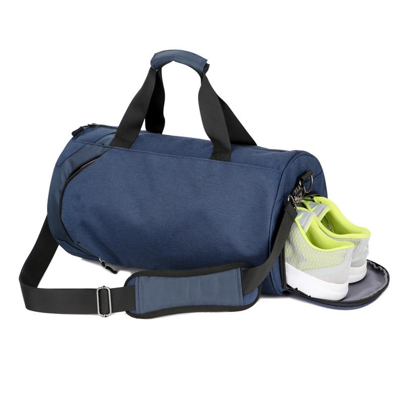 18afaaf304b 2019 Waterproof Shoulder Sport Gym Bag Shoes Storage Women Fitness Yoga  Training Bags Men Gymnastic Crossbody Leisure Travel Handbag From Duriang,  ...