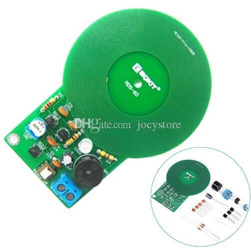 Free shipping! 1pc/lot Metal Detector Kit Electronic Kit DC 3V-5V 60mm  Non-contact Sensor Board Module DIY Electronic Part Metal Detector