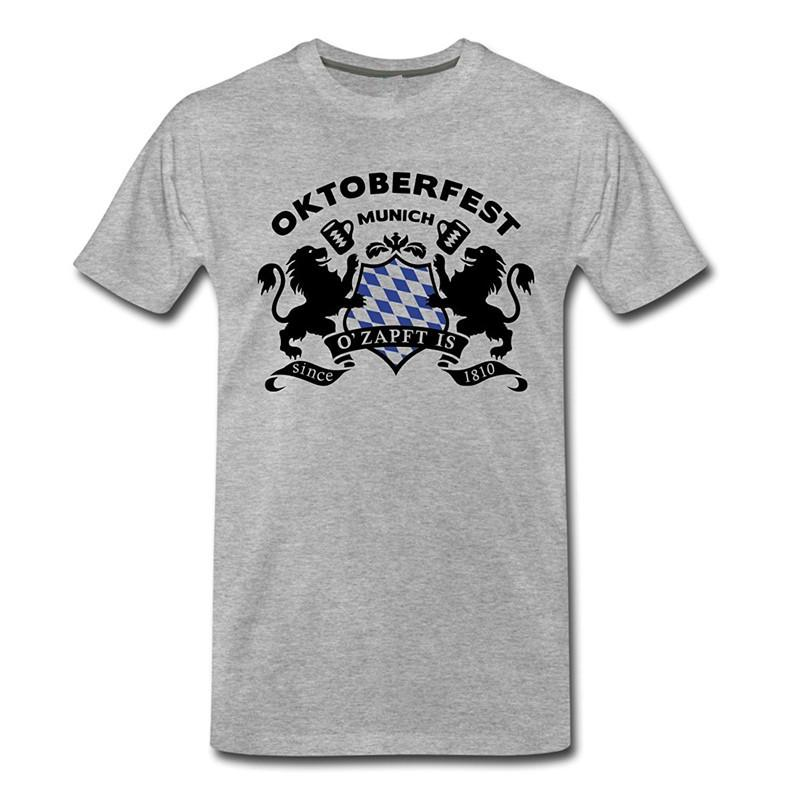 Create Your Own T Shirt Design Men S Short Oktoberfest O  Zapft Is Bavarian  Logo Men S Zomer O Neck T Shirts Awesome T Shirts For Guys Cool Tee Shirt  ... 6b74bb014