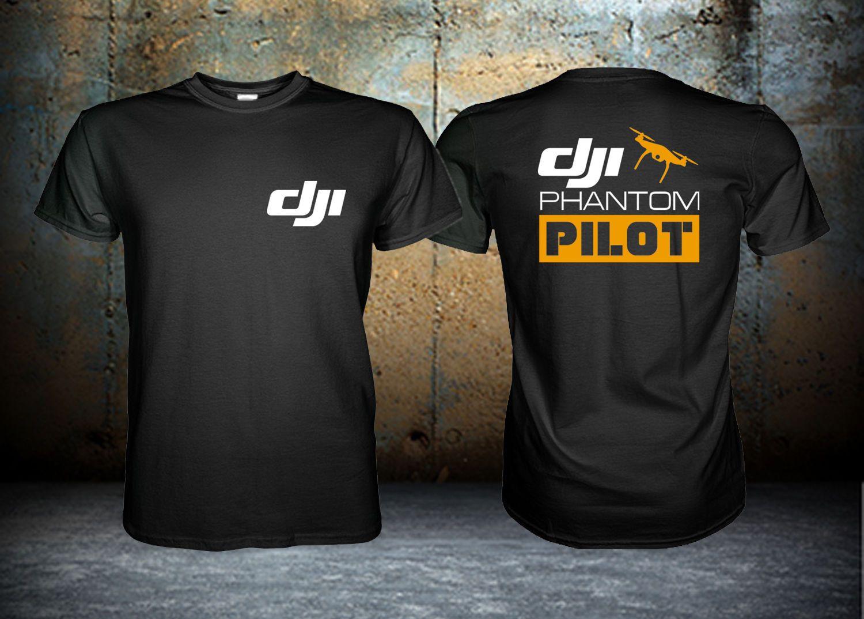 Dji Phantom Pilot T Shirt Custom Shirt Size S M L Xl 2xl 3xl 2018