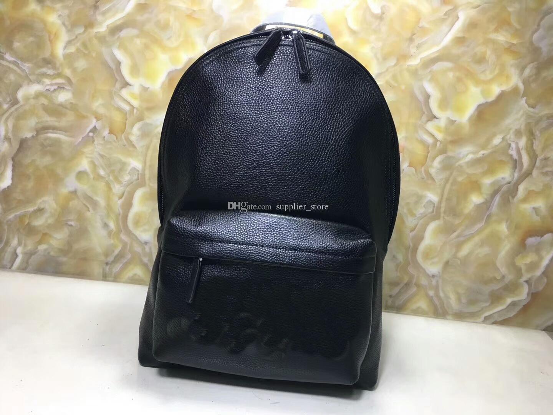 Бесплатная доставка Мода Известные Новые Женские Роскошные Сумки Кожа Дизайнерская вышивка Красный зеленый полоса рюкзак