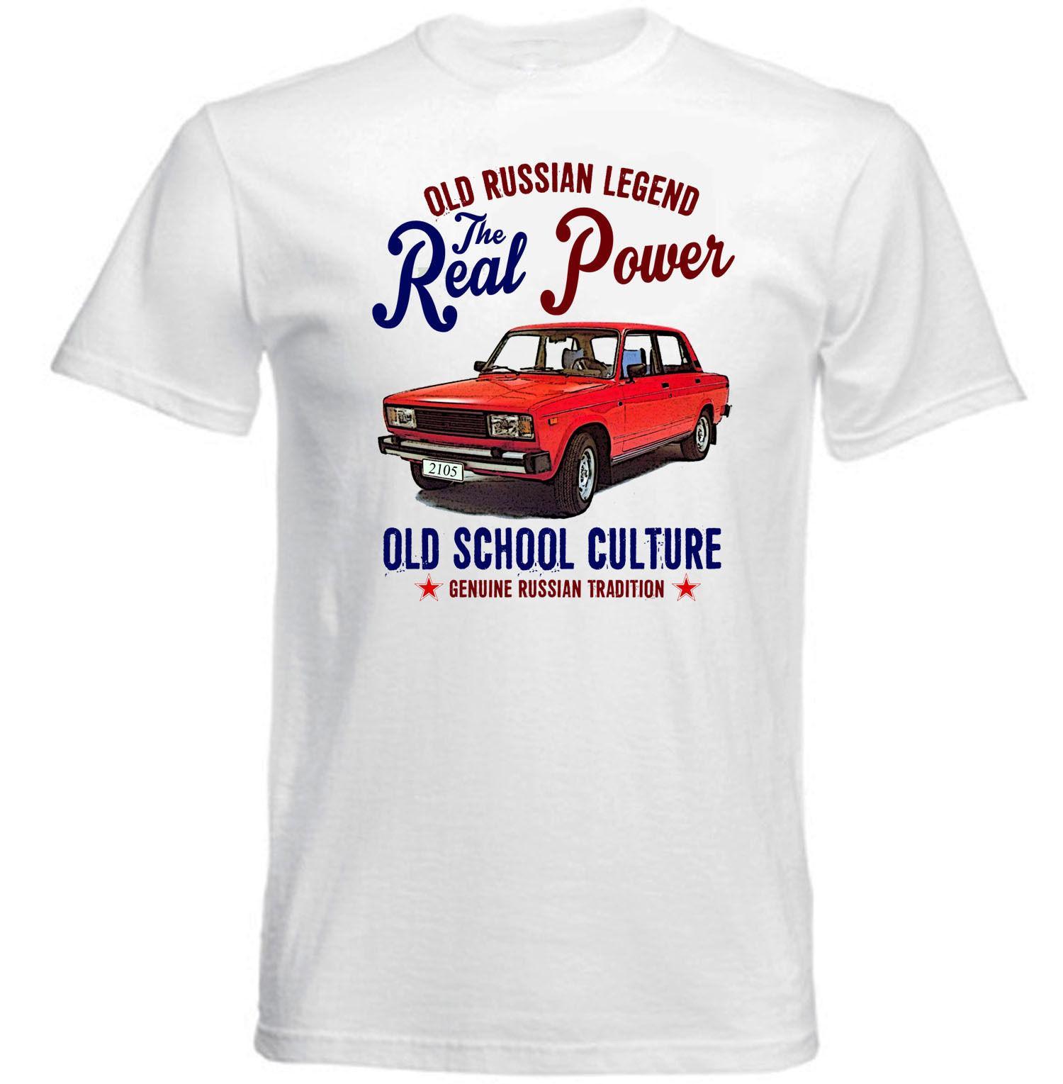 30c3669d9f7cd VINTAGE RUSSIAN CAR LADA 2105 NEW COTTON T SHIRT Tee Shirt Mens 2018 New  Tee Shirts Printing 2018 New Mens T Shirts Men T Shirts Geek T Shirts From  ...
