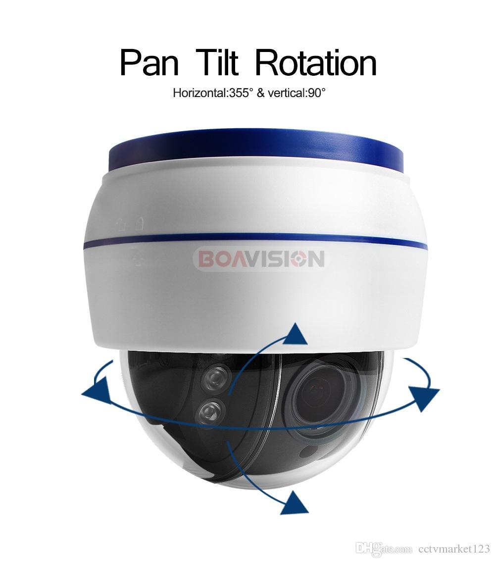 Wireless Speed Dome PTZ IP Camera Wifi HD 1080P 960P 5X Zoom 2.7-13.5mm Indoor Auto Focus Audio SD Card Night Night Onvif WI-FI