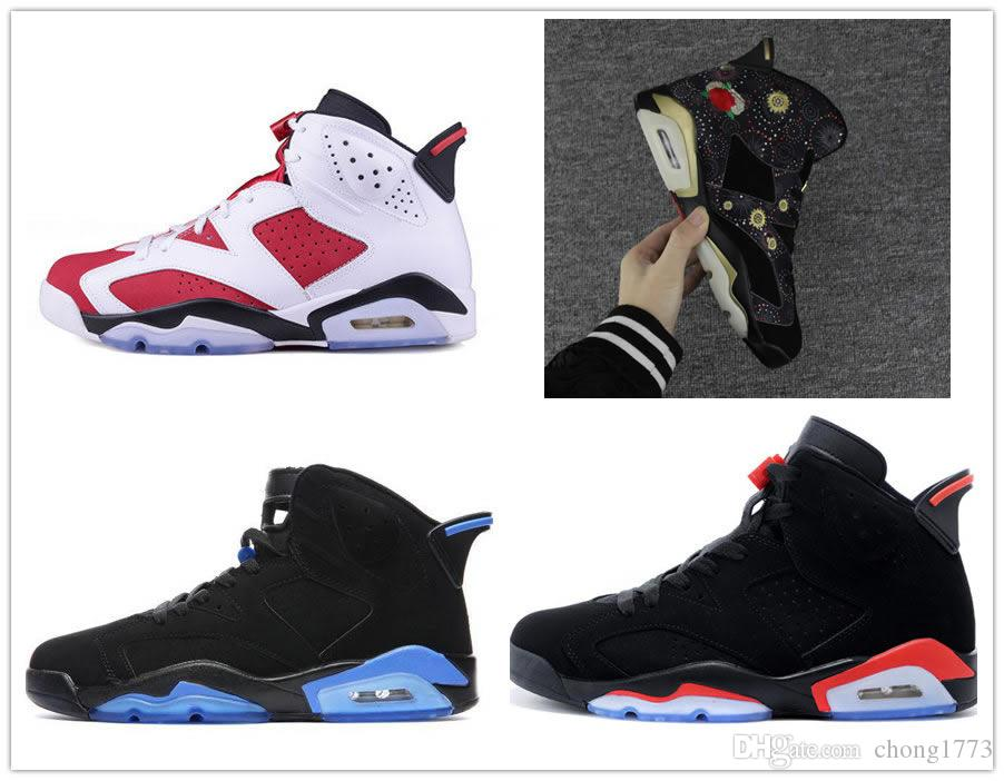 d21c07f305f With Box 6 VI Gatorade Black Infrared Mens Basketball Shoes 6s ...