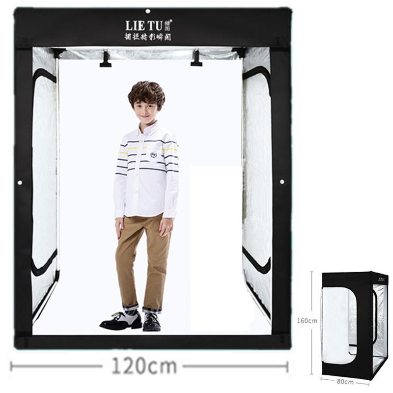 2018 160cm 5 25ft photo tent tabletop shooting led lighting softbox