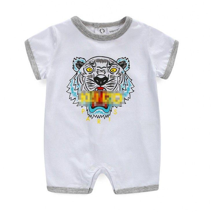 58bfd4f33d78 Fashion Baby Boys Cartoon Rompers Summer Newborn Romper Clothes ...