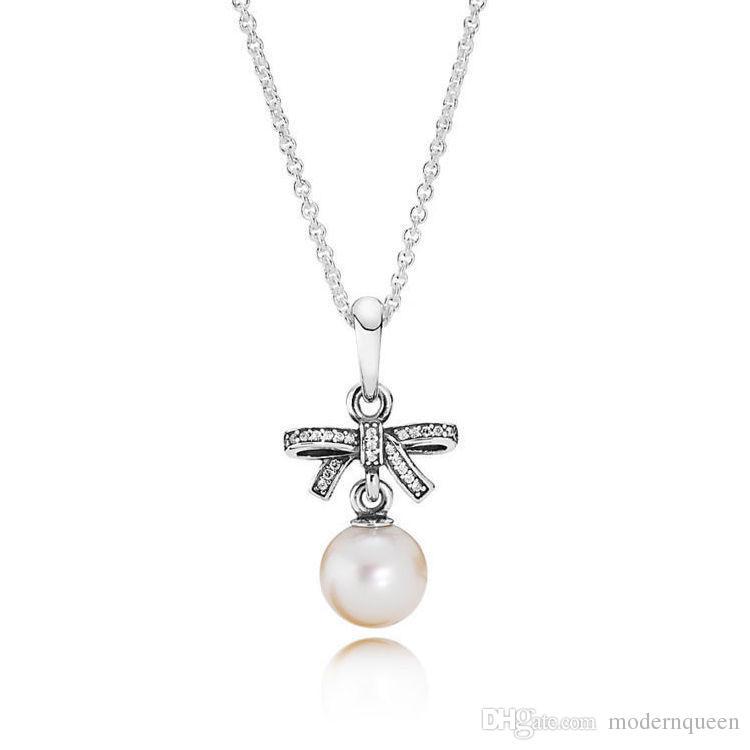 Kolye Kolye Boncuklu 925 Gümüş Satış Orijinal Stil Takılar Uyar Orijinal Stil Charms Narin Comments 390380p-70 H8