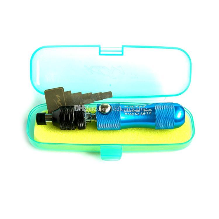 KLOM 7 Pin Tubular Lock Pick 7.5mm & 7.8mm - Specialty Lock Picking Tools for Cylinder Locks
