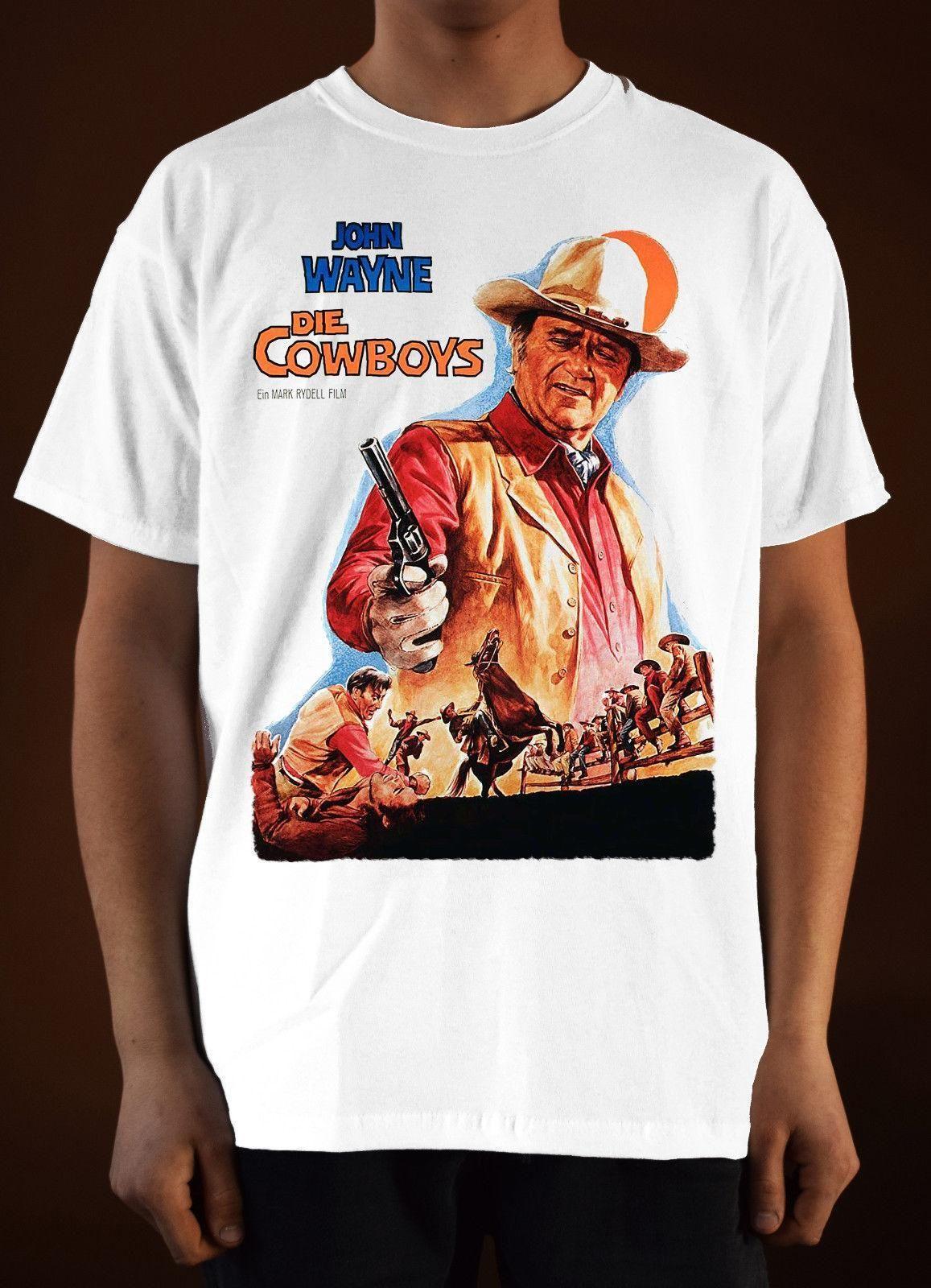 9cd6a9cb DIE COWBOYS Ver. 1 John Wayne T Shirt White S 5XL 24 Hour T Shirt Rude  Tshirts From Amesion91, $12.08| DHgate.Com