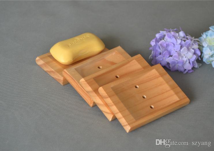 Новый творческий натуральный бамбук дерево мыло блюдо мыло лоток деревянные мыльницы коробка мыла держатель аксессуары для ванной комнаты стеллаж для хранения SN1325