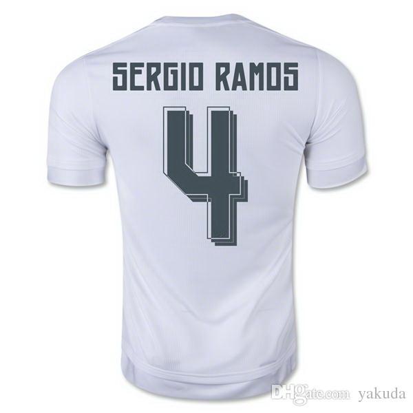 1aa8b6d5931 2019 Sergio Ramos 2016 World Champions Home Soccer Jerseys