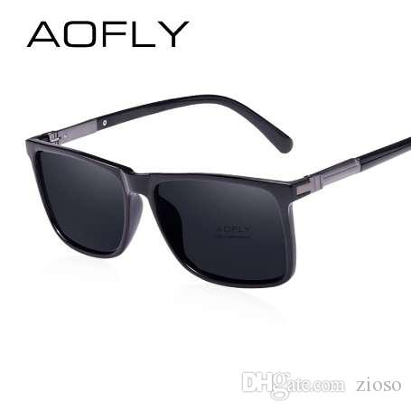 adead743ab0 AOFLY Brand Classic Black Polarized Sunglasses Men Driving Sun Glasses For  Man Shades Eyewear With Box Oculos AF8029 Designer Eyeglasses Womens  Sunglasses ...