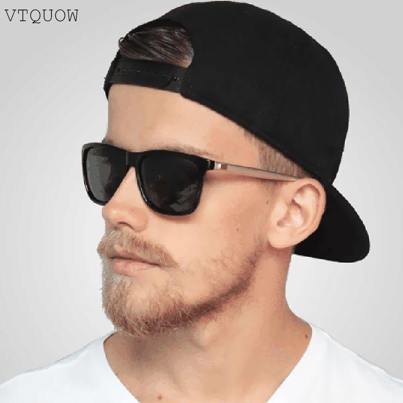 310147782fbd8 Compre 2019 Luxo Polarizada Óculos De Sol Dos Homens Da Marca Designer De  Moda Retângulo De Condução Óculos De Sol Do Sexo Masculino Óculos De Sol  Masculino ...