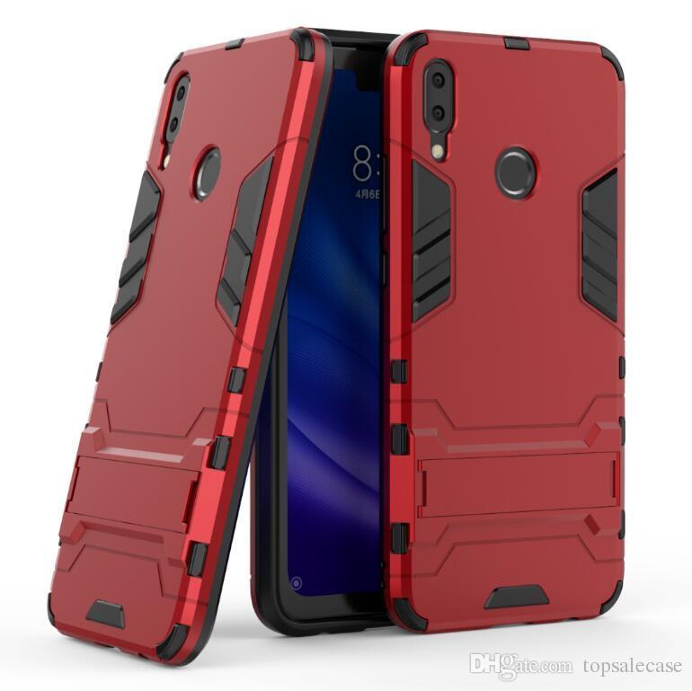 Para Huawei Y9 2019 Enjoy 9 Plus Estuche Fresco Combo Hibrido Armadura Bracket Funda De Funda De Impacto Para Huawei Y9 2019 Enjoy 9 Plus