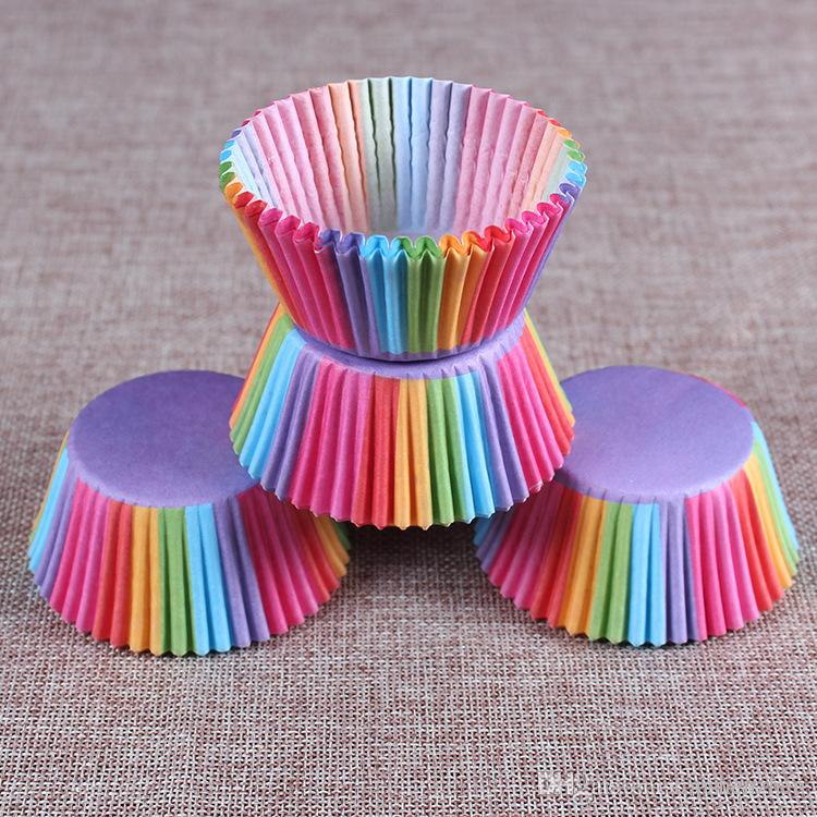 selling Muffins Paper Cupcake Wrappers Baking Cups Cases Muffin Boxes Cake Cup Decorating Tools Kitchen Cake Tools
