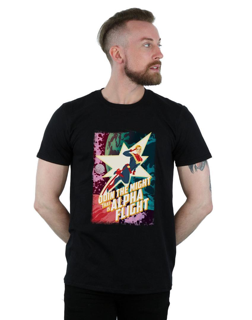 57890d90f60 Marvel Men S Captain Marvel Alpha Flight Funny O Neck T Shirt Fun Tee Shirt  Shop Online T Shirts From Sugarlive