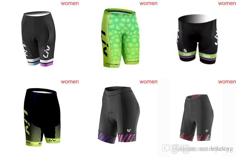 LIV Team Cycling Shorts Women 2018 Summer Racing Mtb Bike Sport Quick Dry  Gel Padded Sportswear Wholesale D0211 Womens Mountain Bike Shorts Mens Bike  Shorts ... fc8be6132