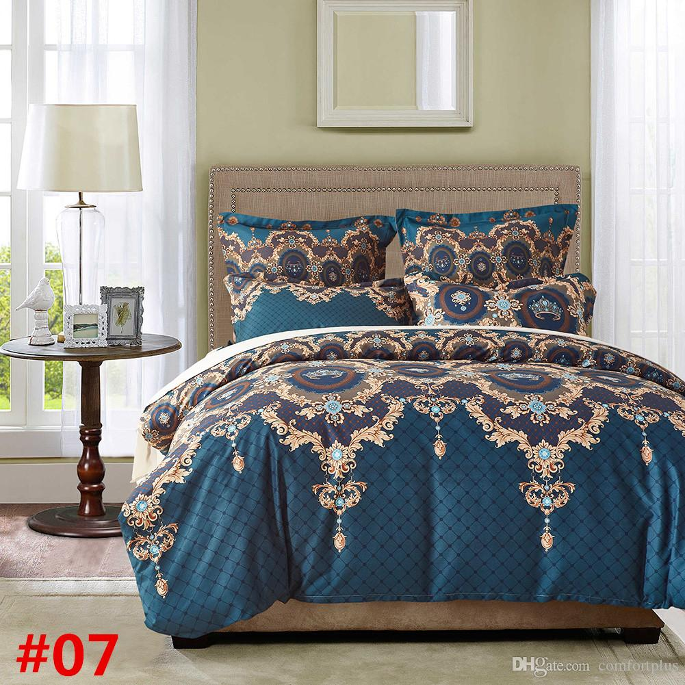 New Fresh Design Bedding Set Of -Duvet Cover Set Quilt Cover Pillowcase Twin Queen King Size Factory Price