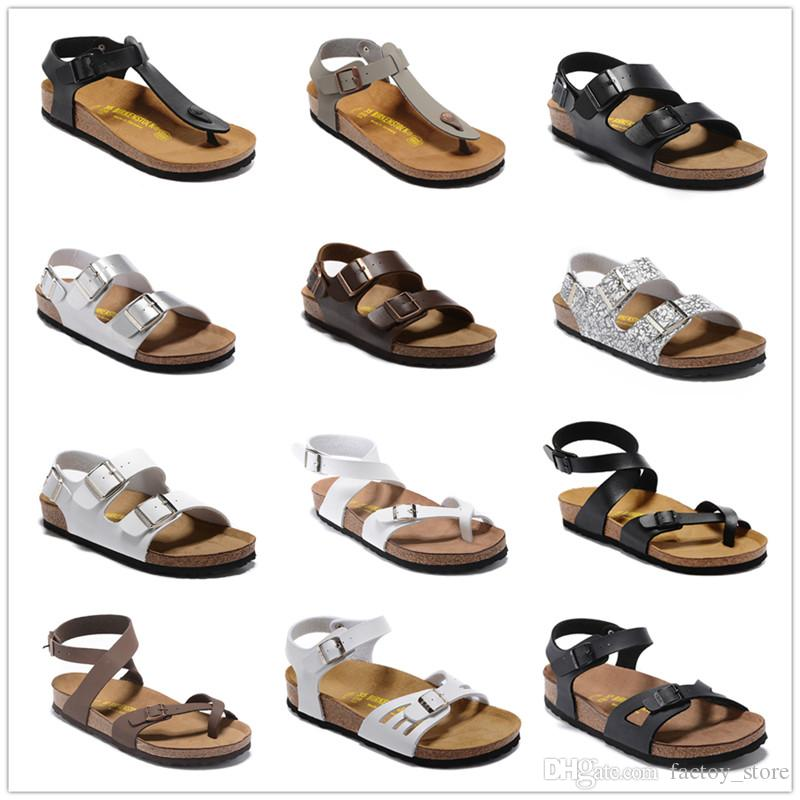 8c63889f231bf Arizona Hot Summer Men s And Women s Slippers with Flat Shoes