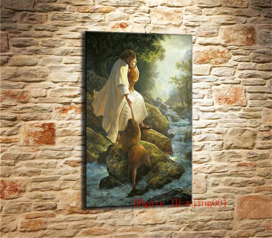 2019 Jesus Christ Lds Greg Olsen 1 Canvas Pieces Home Decor HD Printed Modern Art Painting On Unframed Framed From Wjing001 94