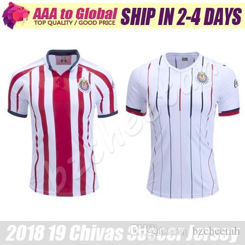 4ae098f924f Chivas Soccer Jersey 2019 Club Deportivo Guadalajara Camiseta Camisetas De  Fútbol De Local De Visitante Uniformes De Primera Calidad Camiseta De  Futbol Por ...