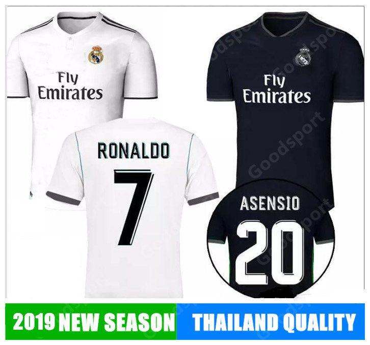 356b035a4 2019 NEW REAL MADRID Soccer Jerseys MODRIC LUCAS V MORATA BALE KROOS ...