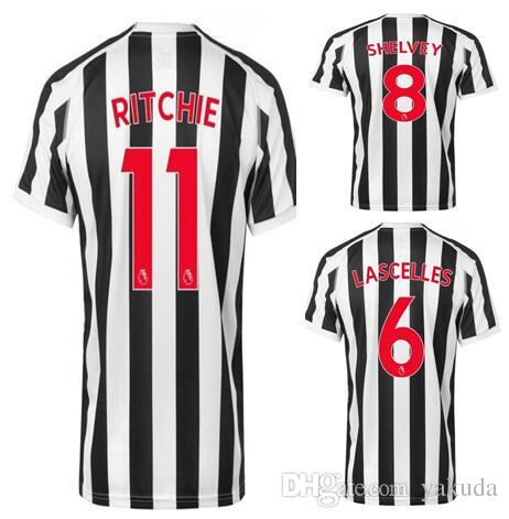 3d6346169 Newcastle Customized 18-19 Thai Quality Soccer Jersey Shirts