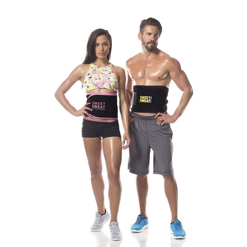626eaee1d57 Sweet Sweat Waist Trimmer Belt Slime Waist Trainer Underwear Women ...